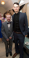 Ryan Kane, GMIT, Joseph Ryan Killimore at the Ability West Best Buddy Ball and award night at the Menlo Park Hotel Galway. Photo:Andrew Downes.