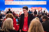 DEU, Deutschland, Germany, Berlin, 07.12.2017: Daniela Kolbe (SPD) beim Bundesparteitag der SPD im CityCube.