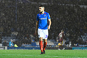 Gareth Evans (26) of Portsmouth during the EFL Sky Bet League 1 match between Portsmouth and Ipswich Town at Fratton Park, Portsmouth, England on 21 December 2019.