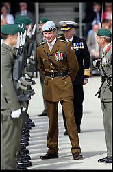 Prince Harry during a visit to the Royal Marines Tamar at the HM Naval Base in Devonport, Plymouth, Friday, 2nd August 2013<br />