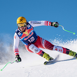 Max Franz of Austria at the Ski Alpin: 80. Hahnenkamm Race 2020 - Audi FIS Alpine Ski World Cup - Men's Downhill Training at the Streif on January 22, 2020 in Kitzbuehel, AUSTRIA. (Photo by Horst Ettensberger/ESPA/CSM/Sipa USA) - Kitzbuhel (Autriche)
