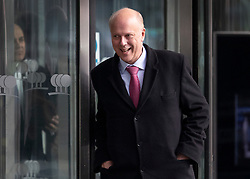 © Licensed to London News Pictures. 10/12/2018. London, UK. Transport Secretary Chris Grayling leaves a Conservative Friends of Israel event in central London. Prime Minister Theresa May is expected to call off tomorrows withdrawal agreement vote when she speaks in the House of Commons later. Photo credit: Peter Macdiarmid/LNP