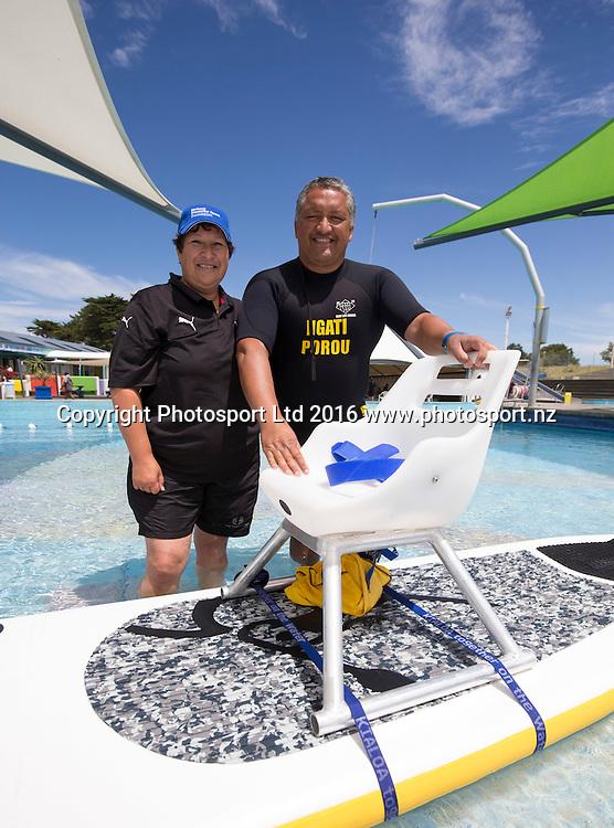 Flight Centre Foundation Halberg Water Sports Day, Waikanae Beach, Gisborne, New Zealand. Saturday, 26 November, 2016. Copyright photo: John Cowpland / www.photosport.nz