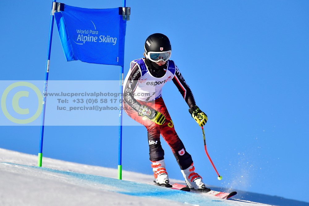 PEMBLE Mel, LW9-2, CAN, Giant Slalom at the WPAS_2019 Alpine Skiing World Cup, La Molina, Spain