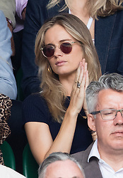 WIMBLEDON - GB -  4th July 2016: The Wimbledon Tennis Championship continues at the All England Lawn Tennis Club in S.E. London.<br /> <br /> Cressida Bonas<br /> <br /> Photo by Ian Jones