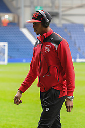 Jonathan Kodjia of Bristol City arrives at The Hawthorns ahead of the FA Cup third round game between West Brom v Bristol City  - Mandatory byline: Dougie Allward/JMP - 09/01/2016 - FOOTBALL - The Hawthorns - Birmingham, England - West Brom v Bristol City - FA Cup Third Round