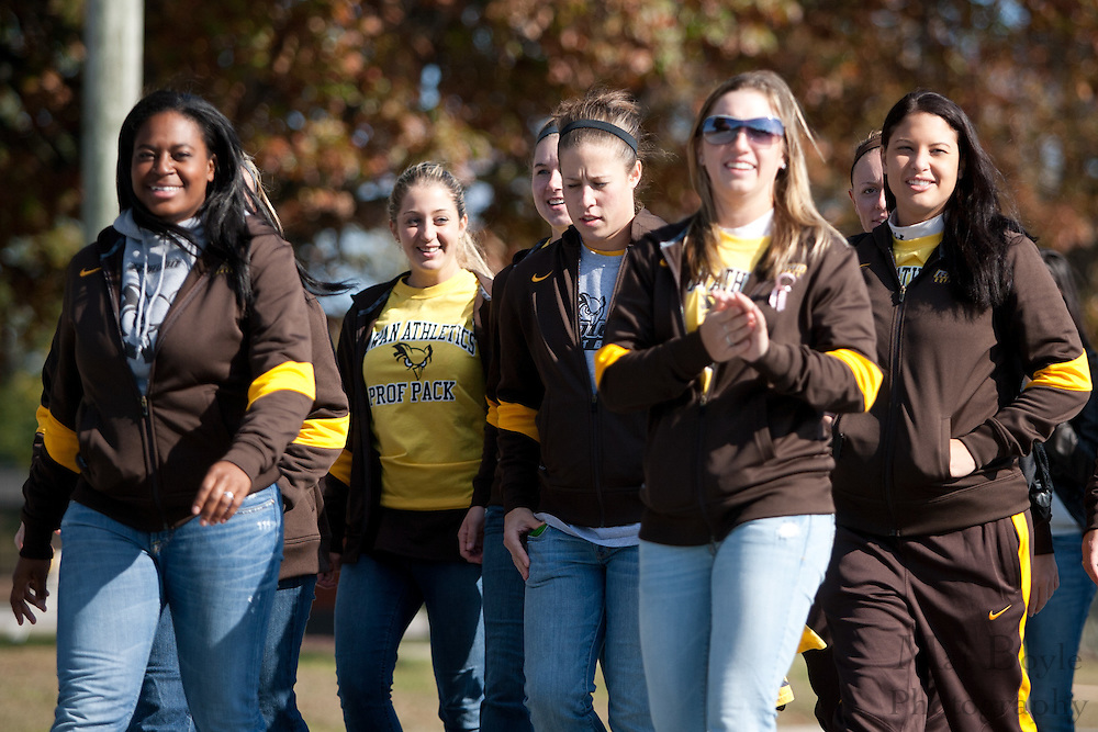 Rowan University Athletics at the Rowan University Homecoming Parade on Saturday October 2, 2011. (Photo / Mat Boyle)