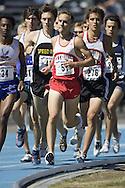 Brett, Allan competing in the junior boys 1500m at the 2007 OTFA Junior-Senior Championships in Ottawa.