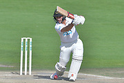Harry Finch drives during the Specsavers County Champ Div 2 match between Sussex County Cricket Club and Nottinghamshire County Cricket Club at the 1st Central County Ground, Hove, United Kingdom on 28 September 2017. Photo by Simon Trafford.