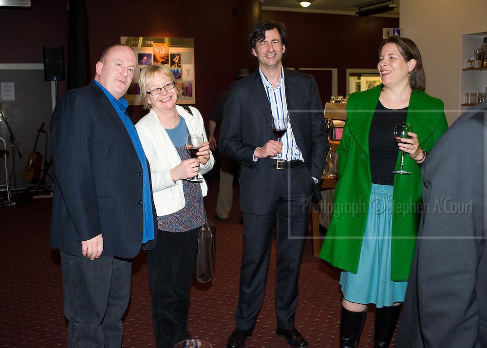 L-R: Peter Hambleton, Aileen Davidson,