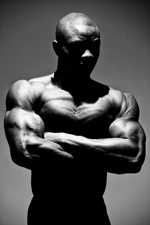 Fitness photo shoot with WNBF Pro Bodybuilder Matthew Matteson