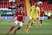 Milton Keynes Dons defender George Baldock during the Sky Bet Championship match between Charlton Athletic and Milton Keynes Dons at The Valley, London, England on 8 March 2016. Photo by Martin Cole.