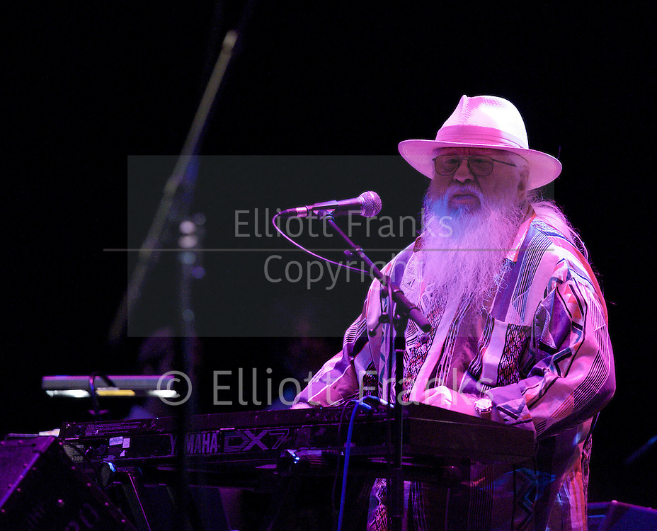 Hermeto Pascoal (born June 22, 1936) is a Brazilian composer and multi-instrumentalist. He was born in Lagoa da Canoa, Alagoas, Brazil. Pascoal is a greatly beloved musical figure in the history of Brazilian music, known for his abilities at orchestration and improvisation, as well as being a record producer and contributor to many other Brazilian and international albums.<br />