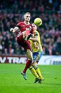 17.11.2015. Copenhagen, Denmark. <br /> Jacob Poulsen of Denmark in action during their UEFA EURO 2016 play-off second leg match at the Telia Parken Stadium.<br /> Photo: © Ricardo Ramirez.