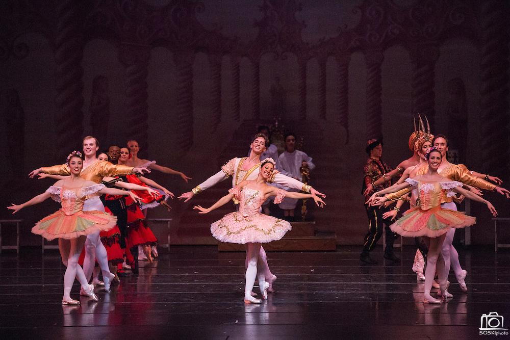 Bay Pointe Ballet performs The Nutcracker at the San Mateo Performing Arts Center in San Mateo, California, on December 13, 2014. (Stan Olszewski/SOSKIphoto)