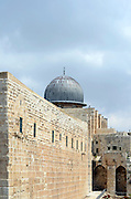 Israel, Jerusalem, Old City, Al Aqsa Mosque on Temple Mount