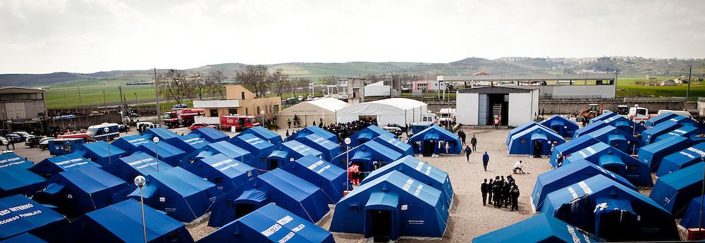 Palazzo San Gervasio (PZ) - Italian Refugee Camp