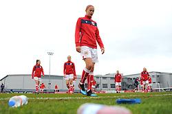 Juliette Kemppi of Bristol City warms up- Mandatory by-line: Nizaam Jones/JMP- 31/03/2019 - FOOTBALL - Stoke Gifford Stadium - Bristol, England - Bristol City Women v Reading Women - FA Women's Super League 1