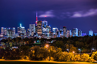 Toronto Skyline from Riverdale Park