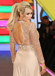 © Licensed to London News Pictures. 03/01/2017. London, UK, Nicola McLean, Celebrity Big Brother: WInter 2017 - Live Launch Show, Photo credit: Brett Cove/LNP