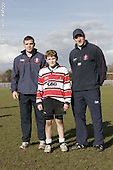 Gloucester Rugby Camp at Oxtalls School. 17-2-06. Pics with Players