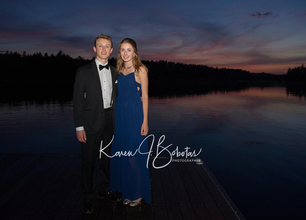 St Paul's School prom evening.  Karen Bobotas Photographer
