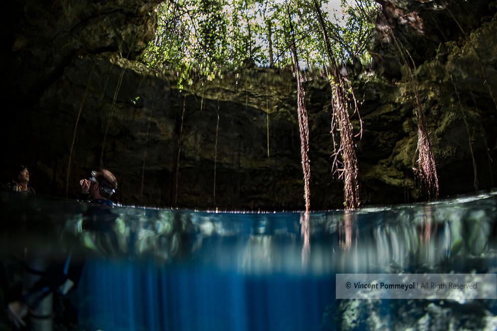 Cenotes Taj-Mahal, Yucatan peninsula, Mexico.