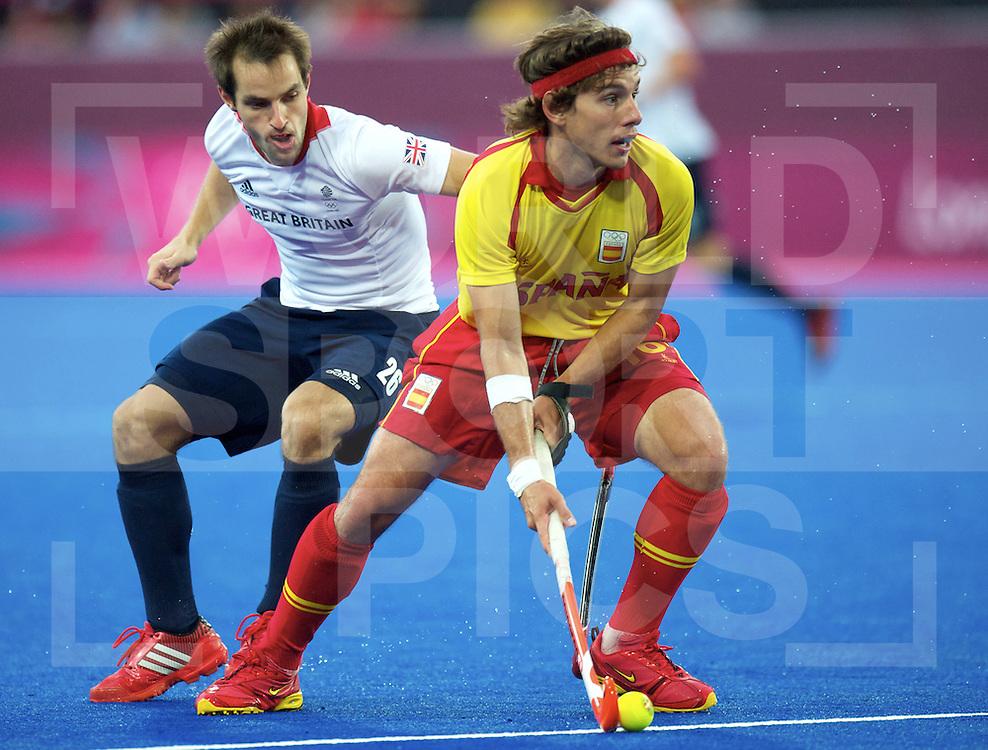 LONDON - Olympische Spelen 2012.men match.Spain v Great Britain.foto: .FFU PRESS AGENCY COPYRIGHT FRANK UIJLENBROEK.