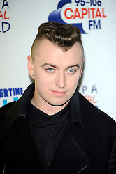Capital Summertime Ball<br /> Sam Smith during photocall ahead of performing at the Capital Summertime Ball, Wembley Stadium,<br /> London, United Kingdom<br /> Sunday, 9th June 2013<br /> Picture by Chris  Joseph / i-Images