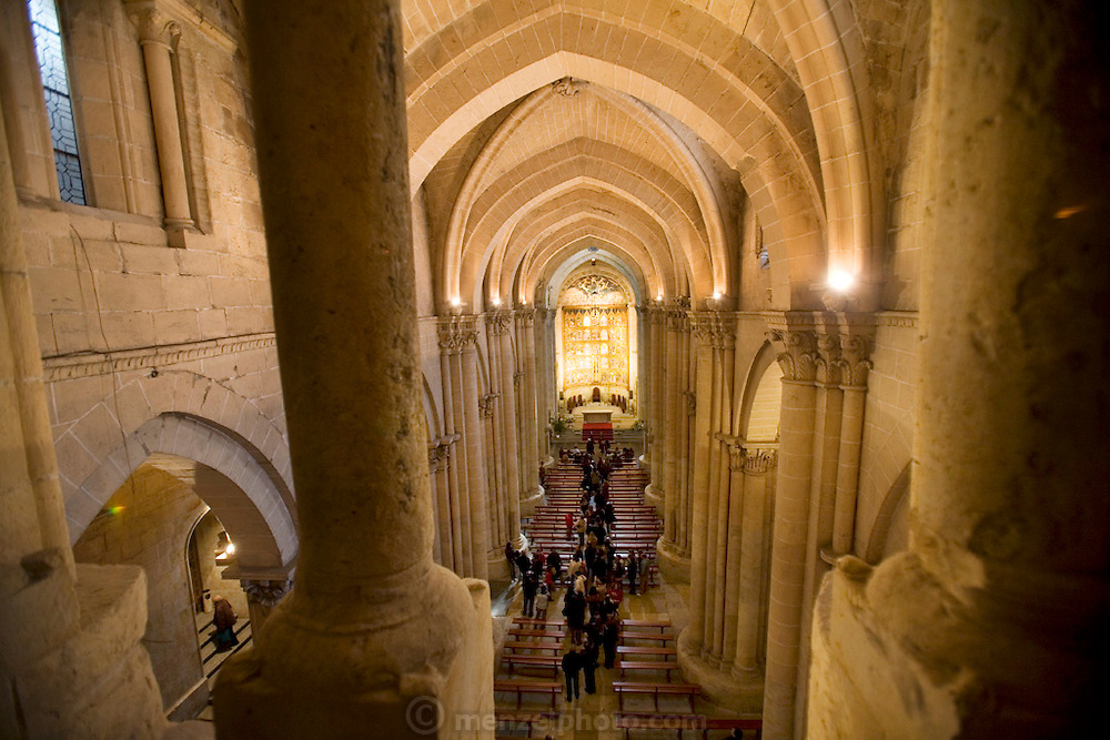 Catedral Vieja (old Cathedral) interior. Salamanca, Spain.