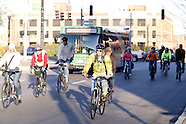 2011 - First Friday and Movember bike ride in Dayton, Ohio