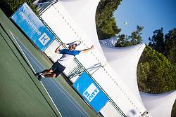 Men's senior of Slovenian championship Zavarovalnica Sava tournament at ATP Challenger Zavarovalnica Sava Slovenia Open 2019, on August 9, 2019 in Sports centre, Portoroz/Portorose, Slovenia. Photo by Grega Valancic / Sportida