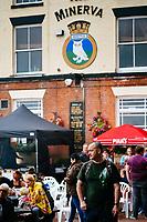 Humber Street, Kingston Upon Hull, East Yorkshire, United Kingdom, 02 August, 2014. Pictured: Humber Street SESH 2014