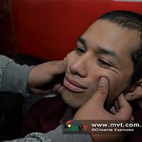 Toluca, MÈxico (Enero 23, 2018).- Cuando se presenta una par·lisis facial, se puede mejorar en un 80 o 90 por ciento dependiendo de la constancia del paciente con la terapia, asÌ como el grado de la afectaciÛn.  Agencia MVT / Crisanta Espinosa.