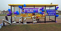 "Balloons and banners tied to a bus stop outside Liverpool's Alder Hey Children's Hospital where seriously ill Alfie Evans is a patient, following his father's appeal to the family's many supporters to step aside and allow them to ""form a relationship"" with the hospital and go on to ""build a bridge and walk across it""."