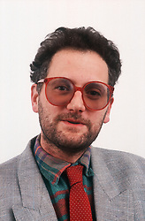 Portrait of man wearing glasses,