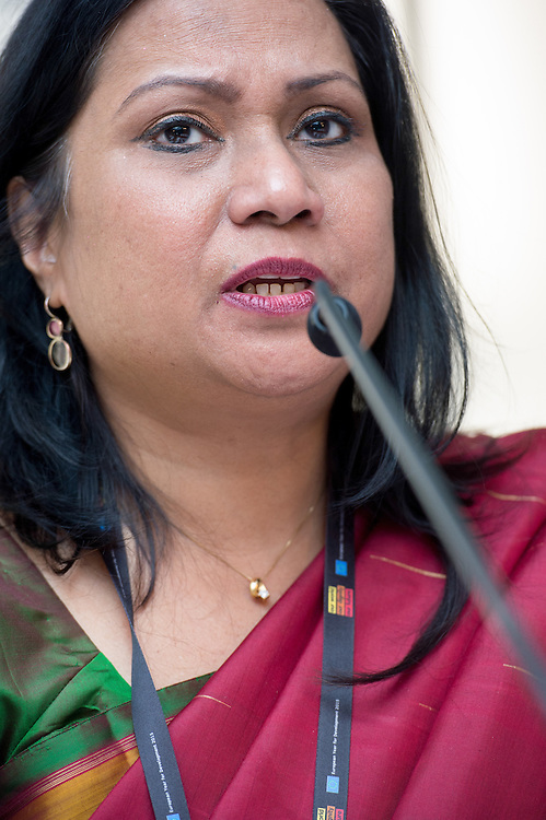 04 June 2015 - Belgium - Brussels - European Development Days - EDD - Gender - A matter of birth , life and death - Walking in the shoes of women and girls without access to water , sanitation and hygiene - Ismat Jahan , Ambassador of Bangladesh to Belgium , Luxembourg and Mission to EU , member of UN Committee on Elimination of Discrimination against Women (CEDAW) © European Union