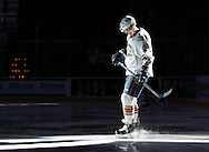 November 15, 2013: The Oklahoma City Barons play the Abbotsford Heat in an American Hockey League game at the Cox Convention Center in Oklahoma City.