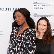 NLD/Amsterdam/20190118 - première The Gershwins' Porgy and Bess, Giovanca Ostiana en ..........