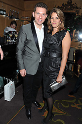 NICK CANDY and TRACEY EMIN at the 39th birthday party for Nick Candy in association with Ciroc Vodka held at 5 Cavindish Square, London on 21st Januatu 2012.
