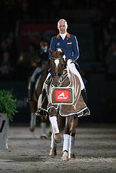 Minderhoud Hans Peter, (NED), Glock's Flirt<br /> Indoor Brabant - 's Hertogenbosch 2016<br /> © Hippo Foto - Dirk Caremans<br /> 11/03/16
