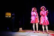 De Fruitella's op het Smartlappenfestival in het Prinsentheater in Groningen.