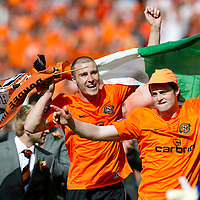 Ross County v Dundee United.....15.05.10   Scottish Cup Final<br /> Sean Dillon and David Robertson celebrate<br /> Picture by Graeme Hart.<br /> Copyright Perthshire Picture Agency<br /> Tel: 01738 623350  Mobile: 07990 594431