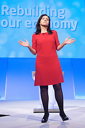 Caroline Flint during the Labour Party Conference in Manchester, Monday October 1 2012, Photo by Elliott Franks / i-Images.
