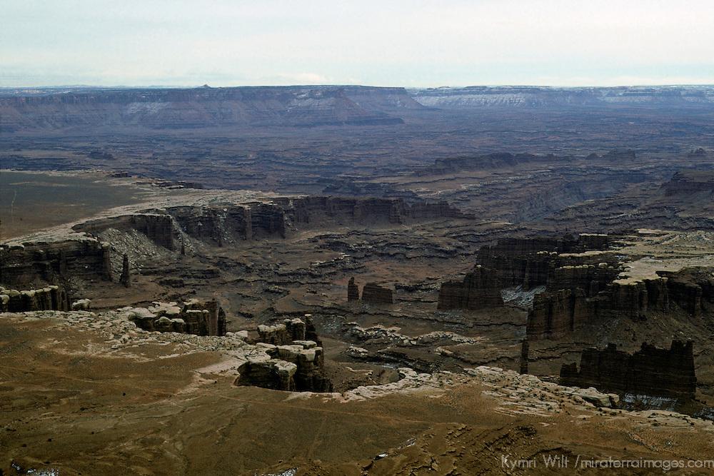 Scenic landscape of Canyonlands National Park near Moab, Utah.