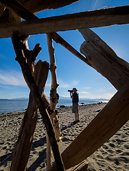 United States, Washington, Whidbey Island, Ebey's Landing State Park Heritage Site