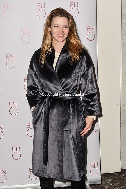 Talulah Riley Arrivals at La Bohème VIP Performance on 29 January 2019 at London Coliseum, London, UK.