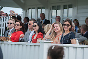 KENNETH BRANAGH; LINDSAY BRANAGH; THEO HUTCHCRAFT; DITA VON TEESE; HERMIONE EYRE; SOPHIE WINDSOR; , Cartier Queen's Cup. Guards Polo Club, Windsor Great Park. 17 June 2012