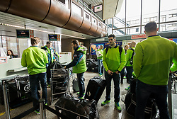 Jurij Repe during departure of Slovenia Olympic Team for PyeongChang 2018, on February 6, 2018 in Airport Joze Pucnik, Brnik, Slovenia. Photo by Morgan Kristan / Sportida
