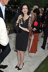 MOLLIE DENT-BROCKLEHURST at the annual Serpentine Gallery Summer Party sponsored by Burberry held at the Serpentine Gallery, Kensington Gardens, London on 28th June 2011.